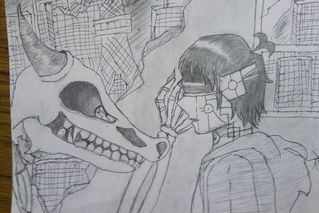 イラスト描いてる人いませんか~